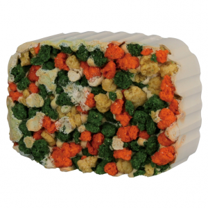 Trixie Trixie Gnawing Stone Spirulina & Croquette 190g
