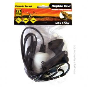 Reptile One Reptile One Heat Lamp E27 Ceramic Socket