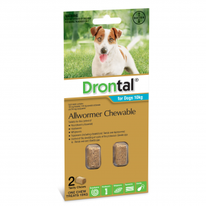 Drontal Drontal Chewable Dog Wormer 10kg