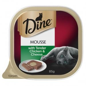 Dine Dine Mousse with Tender Chicken & Cheese 85g