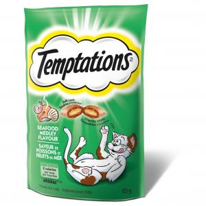 Temptations Temptations Seafood Cat Treats