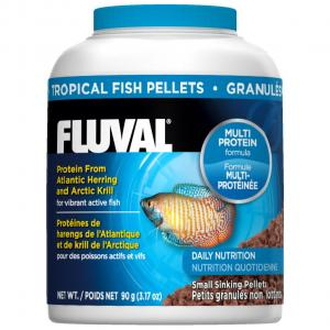 Fluval  Tropical Fish Sinking Pellets 90g