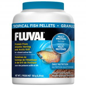 Fluval  Tropical Fish Sinking Pellets 150g