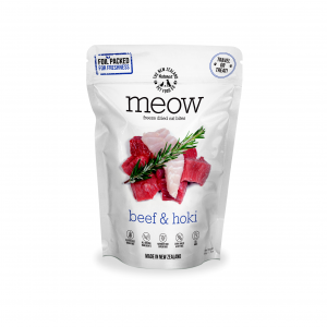 MEOW Meow Freeze Dried Cat Bites Beef & Hoki 50g