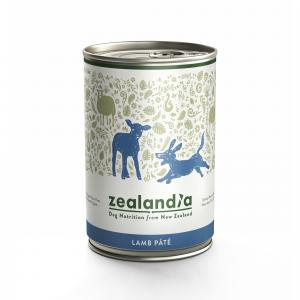ZEALANDIA  Lamb Wet Dog Food 385g