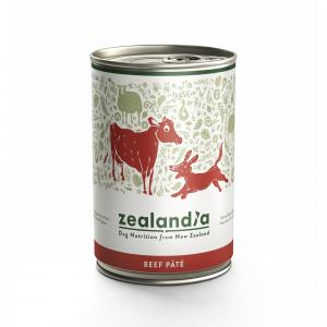 ZEALANDIA  Beef Wet Dog Food 385g