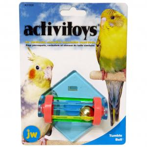 JW JW Insight Tumble Bell Bird Toy - Assorted Colours