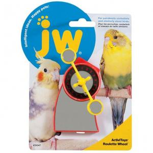 JW JW Insight Roulette Wheel Bird Toy - Assorted Colours