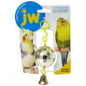 JW JW Insight Disco Ball Bird Toy - Assorted Colours
