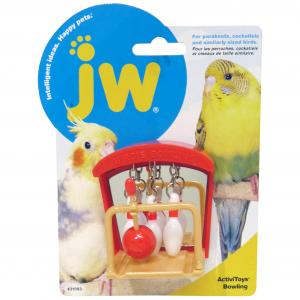 JW JW Insight Birdie Bowling Bird Toy - Assorted Colours