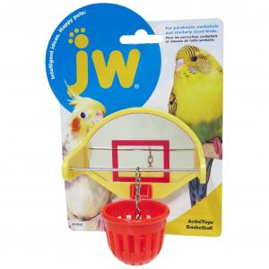 JW JW Insight Birdie Basketball Bird Toy - Assorted Colours