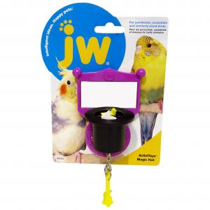 JW JW Insight Bird Magic Hat Toy - Assorted Colours