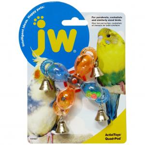 JW JW Insight Bird Activitoy Quad Pod - Assorted Colours