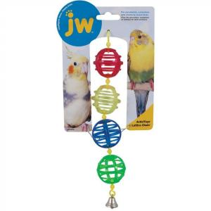 JW JW Insight Lattice Chains Bird Toy - Assorted Colours