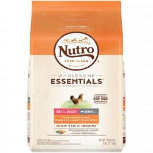 Nutro Nutro Wholesome Essentials Chicken, Rice & Sweet Potato Small Breed Senior Dry Dog Food 2.27kg