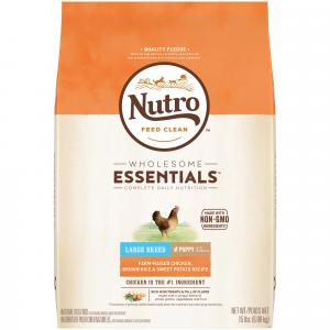 Nutro Nutro Wholesome Essentials Chicken, Rice & Sweet Potato Large Breed Dry Puppy Food