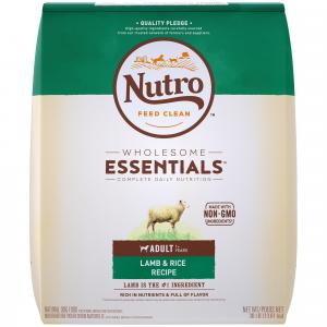 Nutro Nutro Wholesome Essentials Lamb & Rice Dry Dog Food