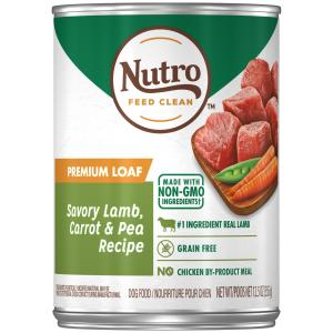 Nutro Nutro Savoury Lamb, Carrot & Pea Wet Dog Food 355g
