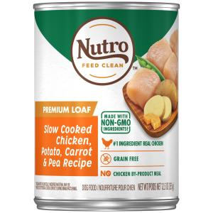 Nutro Nutro Slow Cooked Chicken, Potato, Carrot & Pea Wet Dog Food 355g