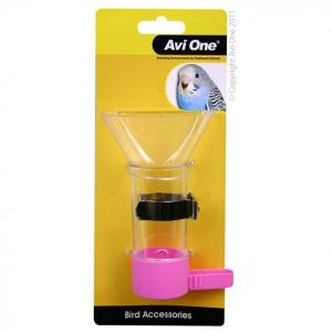Avi One Avi One Bird Funnel Feeder with Metal Holder 12cm