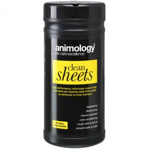 ANIMOLOGY Animology Clean Sheets 80 Wipes
