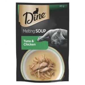 Dine Dine Wet Bonito & Chicken Soup 40g