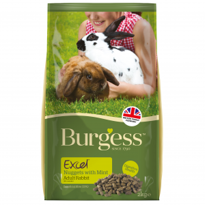 BURGESS  Excel Adult Rabbit Nuggets
