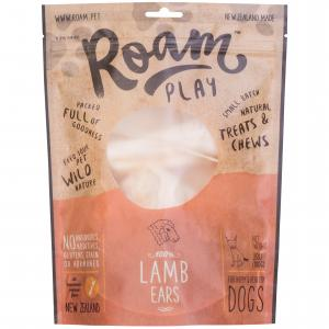 ROAM Roam Lamb Ears Dog Treats 100g