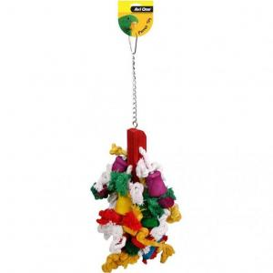 Avi One Avi One Parrot Mop with Rope & Beads