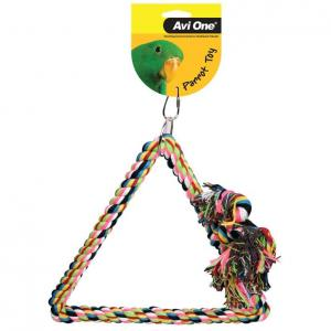 Avi One Avi One Parrot Tri-Angle Rope Swing