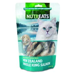 NUTREATS Nutreats NZ King Salmon Cat Treats 50g
