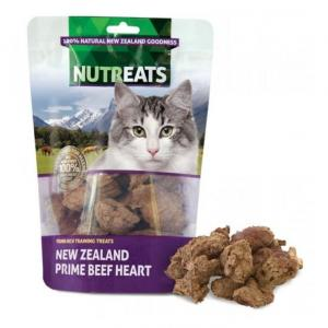 NUTREATS Nutreats NZ Beef Heart Cat Treats 50g