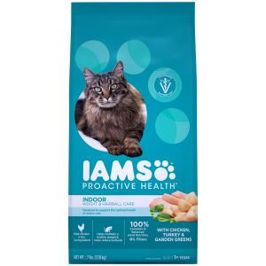 Iams  Proactive Health Indoor Weight & Hairball Care Chicken 3.18kg