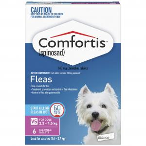 Comfortis Comfortis Chewable Tablet for Dogs 2.3-4.5kg