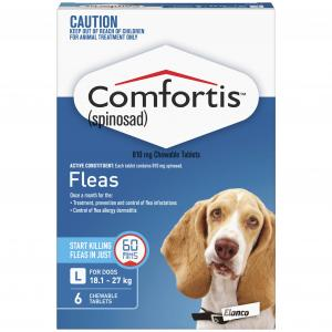 Comfortis Comfortis Chewable Tablet for Dogs 18.1-27kg