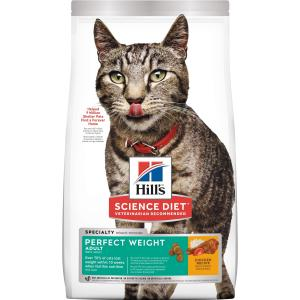 Hill's  Science Diet Adult Perfect Weight Dry Cat Food 1.3kg