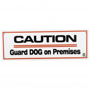 PANDA SIGNS Sign 'caution Guard Dog On Premises'