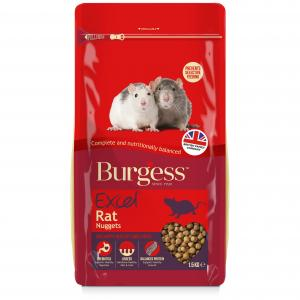 BURGESS Burgess Excel Rat Food Nuggets 1.5kg
