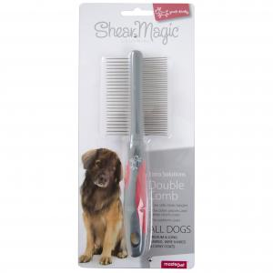 Yours Droolly  Shear Magic Double Sided Comb