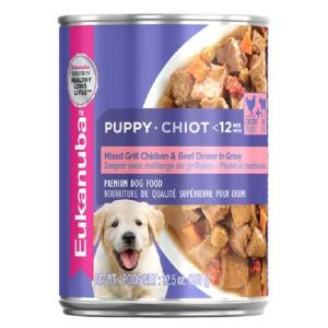 Eukanuba  Puppy Cans Mixed Grill Chicken & Beef 85g