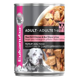 Eukanuba  Mixed Grill Chicken & Beef Dinner Adult Wet Dog Food 354g