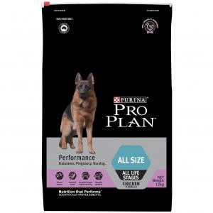 Pro Plan  All Size Adult Performance Dry Dog Food 12kg