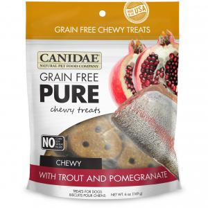 Canidae Canidae Grain Free Pure Trout & Pomegranate Dog Treats