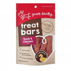 Yours Droolly  Treat Bars Duck & Chicken Dog Treats