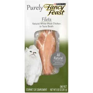 Fancy Feast Fancy Feast Filets Natural Chicken in Broth 30g