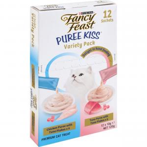 Fancy Feast Fancy Feast Puree Kiss Variety Pack 12pk