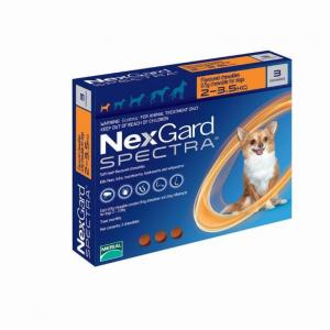 NexGard  Spectra Chewables For Very Small Dogs 2-3.5kg