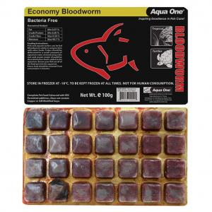 Aqua One Aqua One Frozen Bloodworms 100g