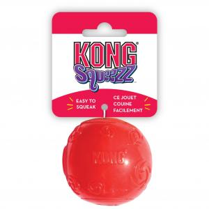 Kong  Squeezz Ball - Assorted Colours Multiple MEDIUM
