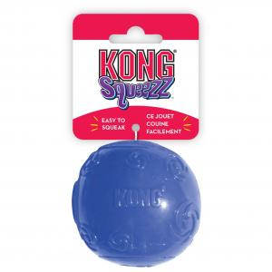 Kong  Squeezz Ball - Assorted Colours Multiple LARGE